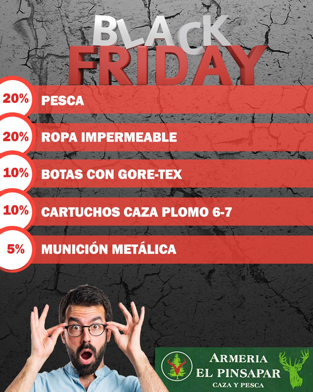 Black Friday Armeria El Pinsapar