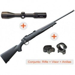 Rifle de cerrojo THOMPSON Compass + Visor AVISTAR 2
