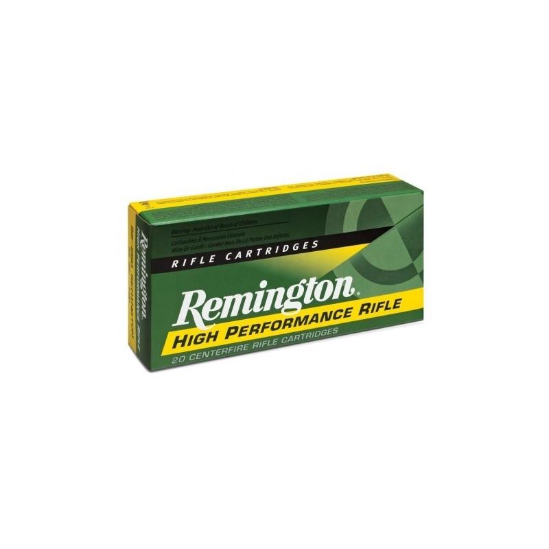 Munición metálica REMINGTON HIGH PERFORMANCE RIFLE - 45-70 Govt - 300 grains