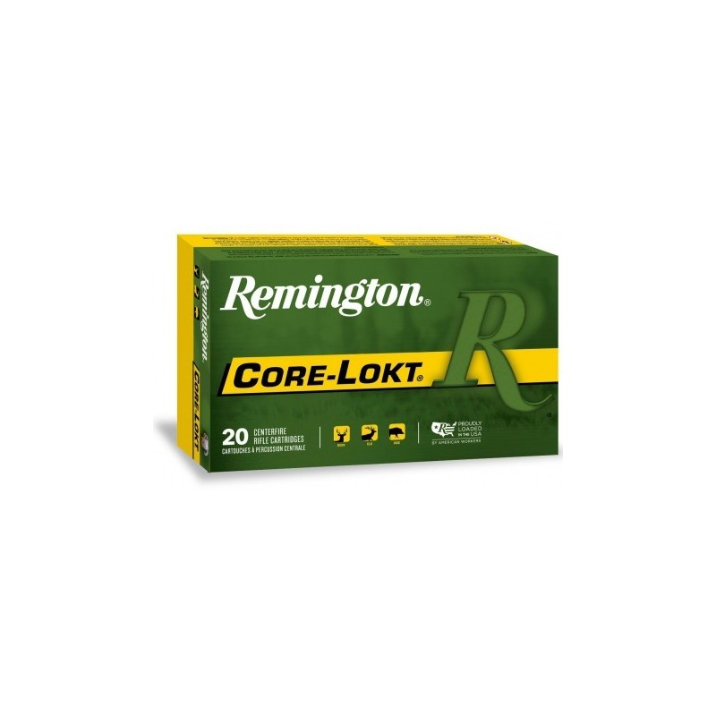 Munición metálica REMINGTON CORE-LOKT - 300 RUM - 180 grains