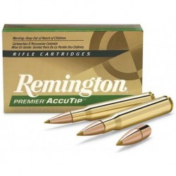 Munición metálica REMINGTON PREMIER ACCUTIP - 308 Win. - 165 grains