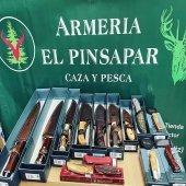 ¡Reposición en cuchillería y navajas!  ¡¡Consúltenos!!☎️📲  #armeriaelpinsapar  #tutiendadeconfianza #caza #pesca